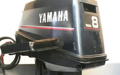 Yamaha 8 Ps Schubmotor zum mieten